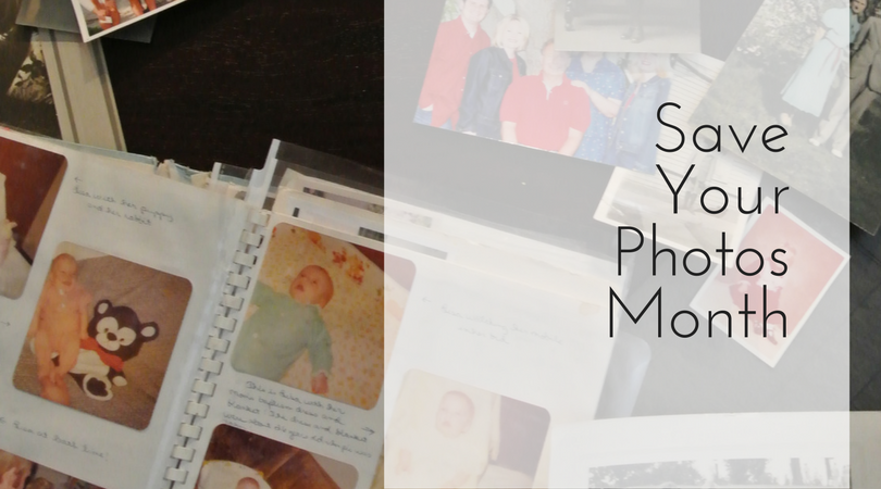 September is Save Your Photos Month