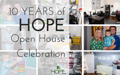 Celebrating 10 Years of HOPE organizing – Open House