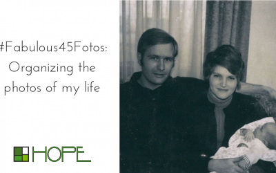 Fabulous 45 Fotos: Organizing the photos of my life