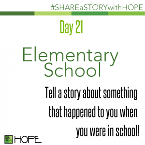 Share a Story about Elementary School