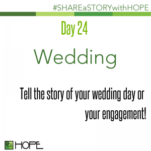 Share a Story about your wedding