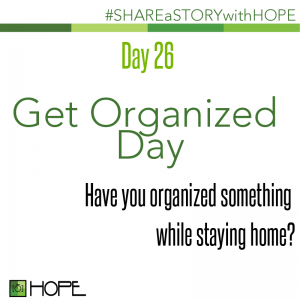 Share a Story about Organizing