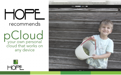HOPE recommends: pCloud