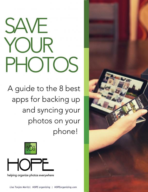 Save Your Phone Photos