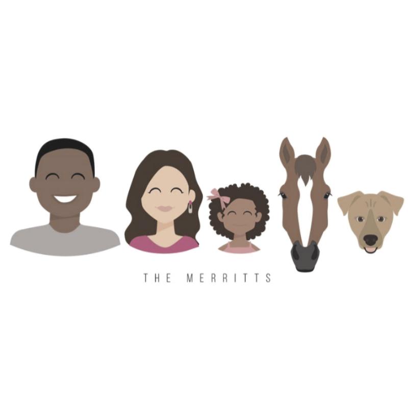 Custom Family Drawing
