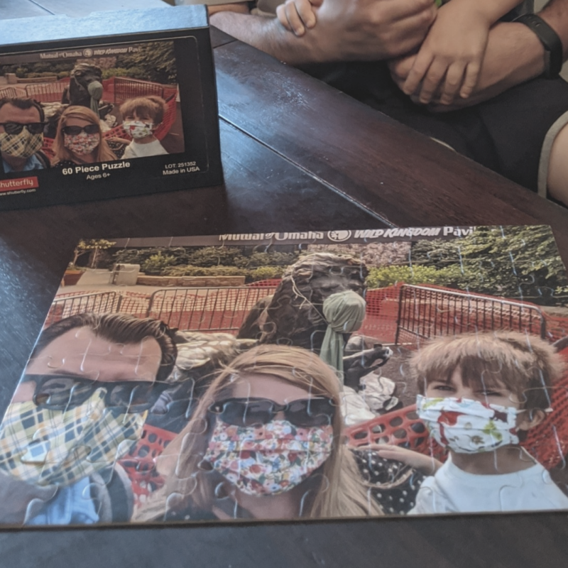 Photo Puzzle of Family
