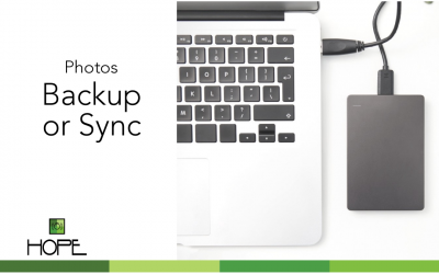 Photos: To backup or sync?